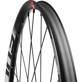 "Fulcrum Red Zone 5 Paire de roues VTT 29"" TL Ready Shimano CL Boost, black/red"
